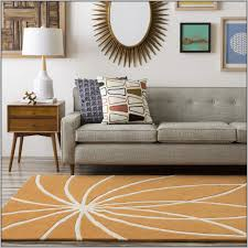 orange and grey area rug solid burnt orange area rug image of round burnt orange area rug