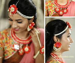 flower jewellery 21 fresh flower jewellery for mehndi function jewelsome