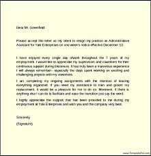 one week notice letter sample templatezet