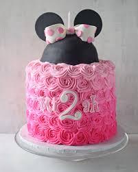 minnie mouse cake behance