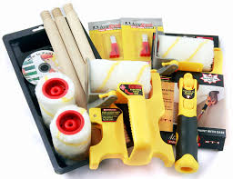 accubrush xt deluxe kit with free mx edger paint rollers