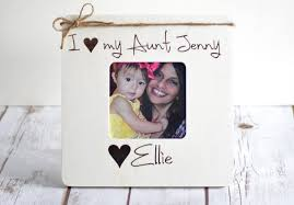 christmas gifts for aunt personalized picture frame