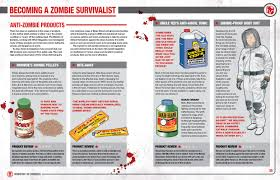 zombie survival manual from the dawn of time onwards all