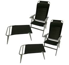 table for recliner chair aluminium folding recliner chair optional table footrest
