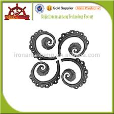forged ornamental iron parts wrought iron buy cast iron or