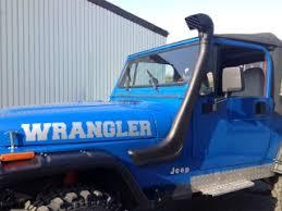 jeep yj snorkel bravo snorkel for jeep wrangler yj 189 00