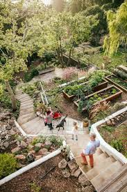 Idea For Backyard Landscaping Best 25 Terraced Backyard Ideas On Pinterest Sloped Backyard