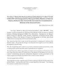 bureau of financial institutions gyan sangam retreat for and financial institutions