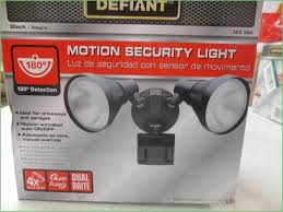 defiant led motion security light manual lighting defiant flood light stays on defiant solar led flood