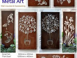 decor 66 australian steel metal garden wall art outdoor artworks