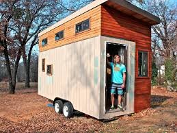 college student builds 15 000 tiny home instead of living in a