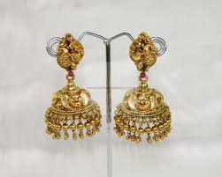 buttalu earrings earrings jhumkis chandbali gold jewellery earrings jhumkis