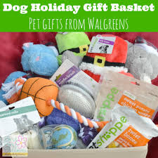 Pet Gift Baskets Dog Holiday Gift Basket Inspired By The Walgreens Holiday Guide
