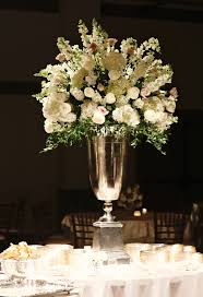 wedding flowers m s blush roses white roses hydrangea and snapdragon centerpiece