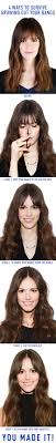 clip snip hair styles 4 ways to grow out your bangs without hating your hair bangs
