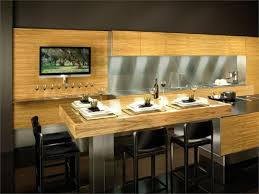 Kitchen With Bar Table - kitchen with bar concepts my home design journey