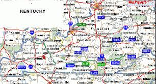 map kentucky lakes rivers swimmingholes info kentucky swimming holes and springs rivers