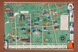 Michigan State University Campus Map by Pennst Map Maps Pinterest