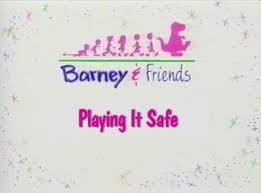 image playing it safe title card png barney wiki fandom
