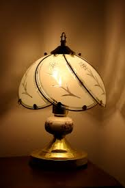 bedside lamp with glass shade picture free photograph photos bedside lamp with glass shade