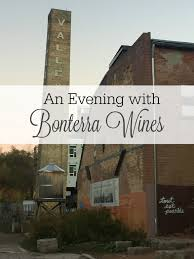 an evening with bonterra wines just a trace