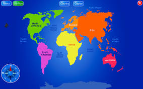 world map image with country names hd continent clipart world country pencil and in color continent