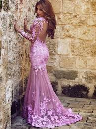 formal gowns mermaid sleeve lace evening gowns sleeve mermaid prom