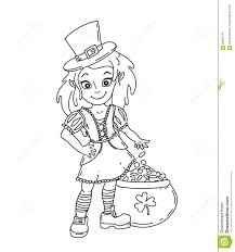 cute irish coloring pages
