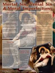 catholic store online mortal sins venial sins and moral imperfections explained poster