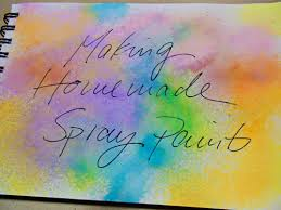 balzer designs art journal every day make your own spray ink