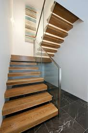 Free Standing Stairs Design 40 Stair Railings Of Glass U2013 Airy Feel In The Interior Design Of