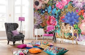 melli melo abstract flowers melli mello wall murals