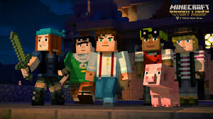 Games Like Home Design Story Minecraft Story Mode Minecon 2015 Trailer Youtube
