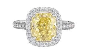 yellow engagement rings 30 diamond engagement rings so sparkly you ll need sunglasses