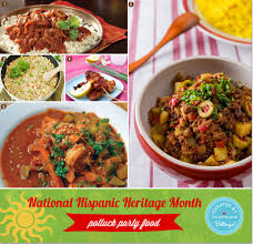 potluck party ideas for celebrating national hispanic heritage month