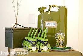 Camouflage Favors by Kara S Ideas Army Camouflage Themed Birthday Kara S