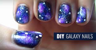 diy galaxy nails diy projects for teens
