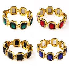 aliexpress buy nyuk gold rings bling gem online get cheap bracelet men aliexpress alibaba