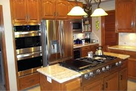 Black Kitchen Appliances Ideas Rustic Kitchen With Slate Appliances Rustic Kitchen With White