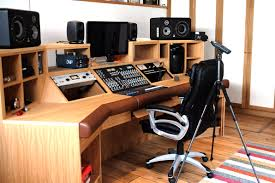 Recording Studio Desk Uk by Acoustic Design For A Recording Studio Anderson Acoustics