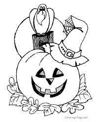 halloween coloring book pages kids coloring