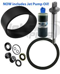 deluxe seadoo jet pump rebuild kit wear ring seal shaft many rfi