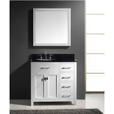 36 Bath Vanities Caroline Parkway 36 U0027 U0027 Single Bathroom Vanity Cabinet Set Right