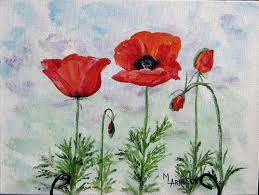 how to paint a poppy colorado