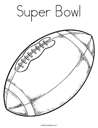 Football Coloring Pages Twisty Noodle Football Coloring Page
