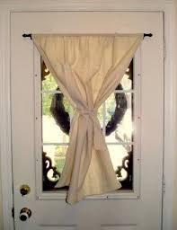 Curtains Without Rods How To Hang A Door Curtain Www Elderbranch