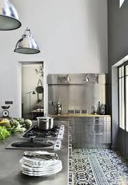 credence cuisine carreau ciment carreau ciment credence cuisine 8 carrelage inox pour credence