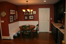 Wooden Banquette Seating Kitchen Cozy Loral Upholstered Banquette Theme With Long Dining