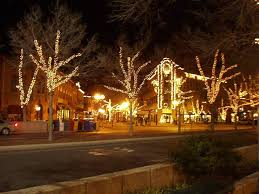 fort collins christmas lights happy holidays in old town