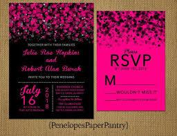 best 25 black wedding invitations ideas on black